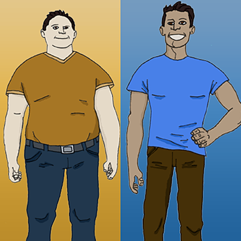 ... for Your Weight Loss Goal: Before and After Weight Loss Motivation