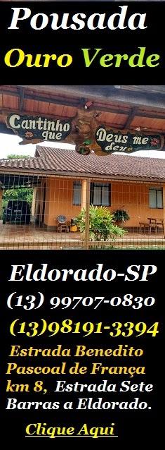 Pousada Ouro Verde - Eldorado-SP - Clique aqui e conheça