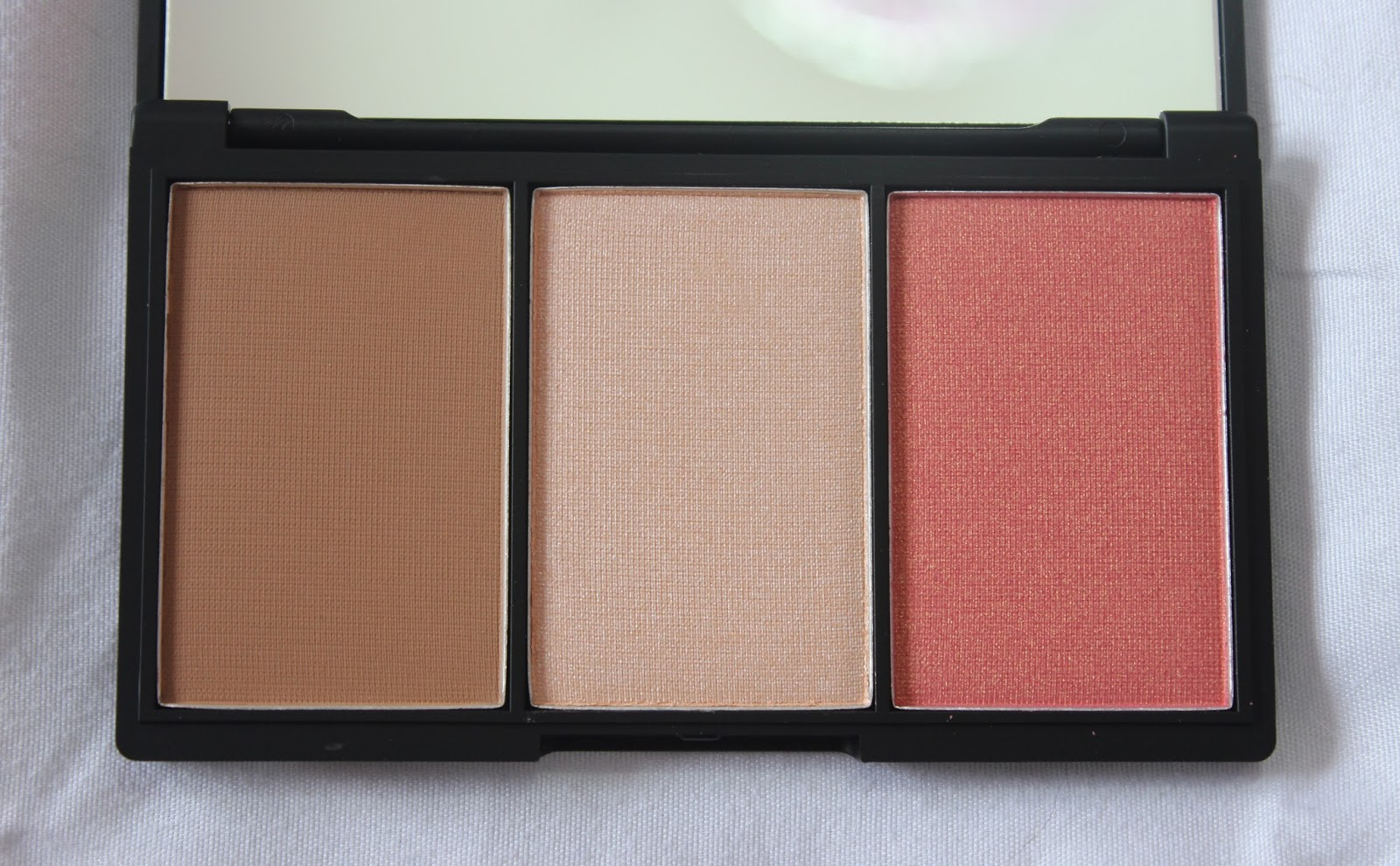 Sleek Face Form Contouring And Blush Palette In Fair