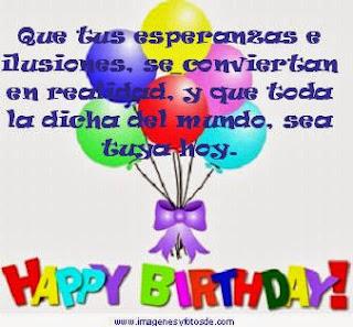 Mensajes de Cumpleaños 1