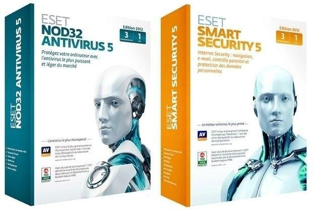 ESET Smart Security & NOD32 Antivirus 5 5.2.9.12 x86/x64   PT BR + Crack 2013