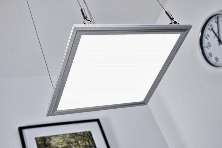 Plafoniera Quadrata Led Soffitto : Lampada pannello led w luminoso quadrato cm plafoniera