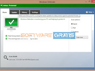 antivirus gratis - microsoft security esentials