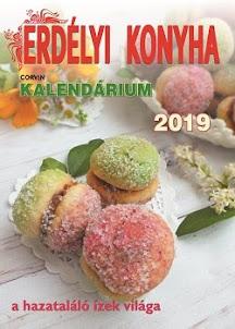 Erdélyi Konyha kalendárium 2019