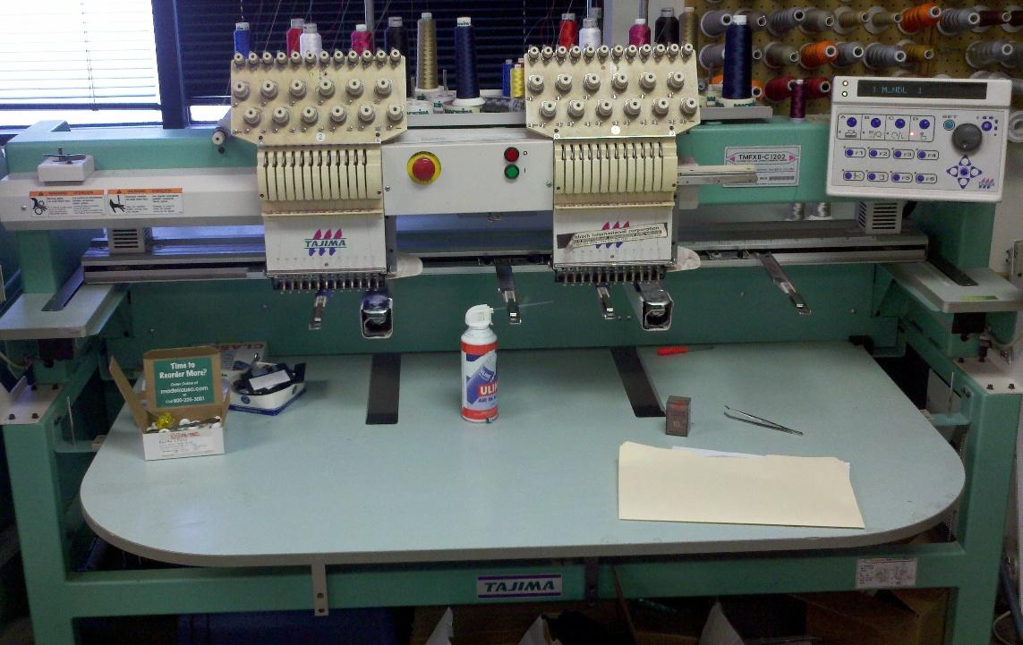 Seven (7) Tajima Embroidery Machines For Sale On November 2011 | Machines For Sale - Bargain ...