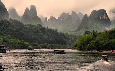 Li river in front of Langshi