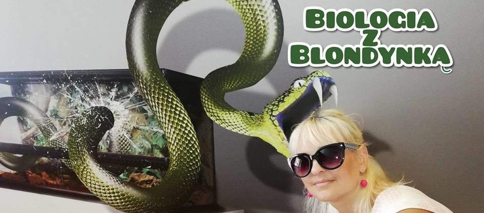 Biologia z blondynką