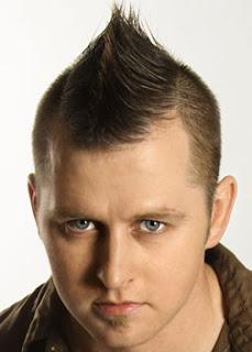 Men Faux Hawk Hairstyle 2011