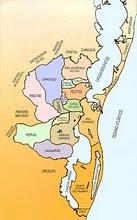 Mapa da Arquidiocese de Pelotas