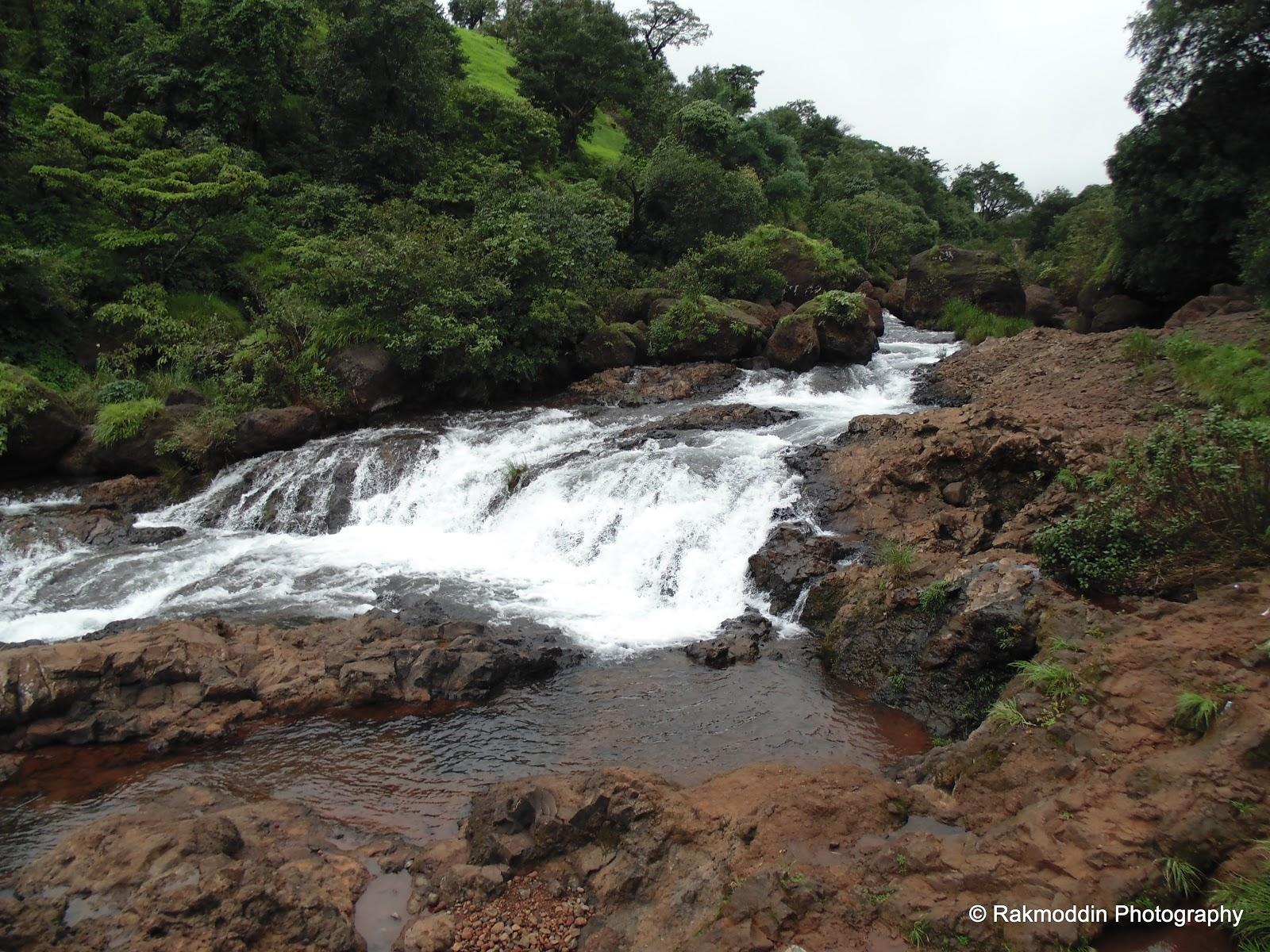 Thoseghar waterfalls in Satara during the monsoon
