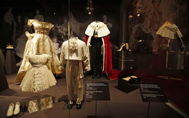 As the world watched the monarch being crowned at Westminster Abbey on June 2 1953, they also marvelled at the clothes designed for the momentous day. The exhibition brings together the dresses, robes and gowns worn by the Queen and her immediate family for the first time since the historic event, and important artefacts that played a part in the day
