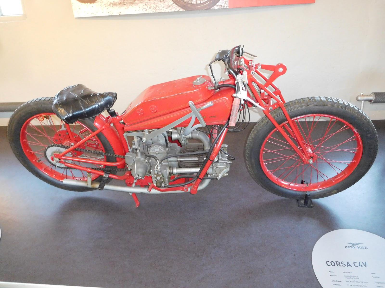 NYDucati: 1924-27 Moto Guzzi Corsa CV4