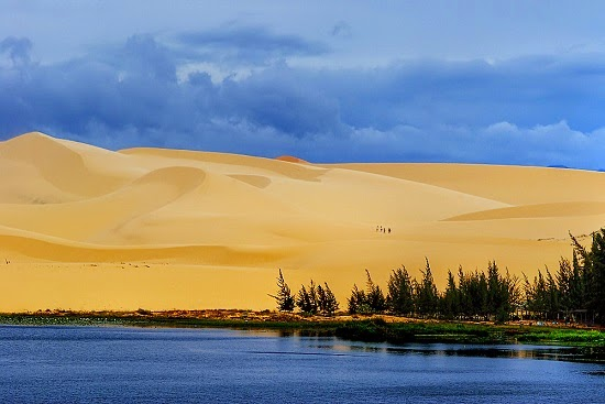 The White Sand Dune - The top attraction at Mui Ne