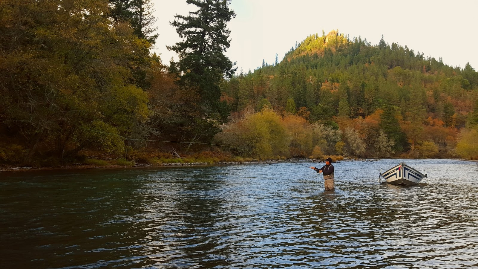 Rogue river and southern oregon fly fishing guide for Fishing in november