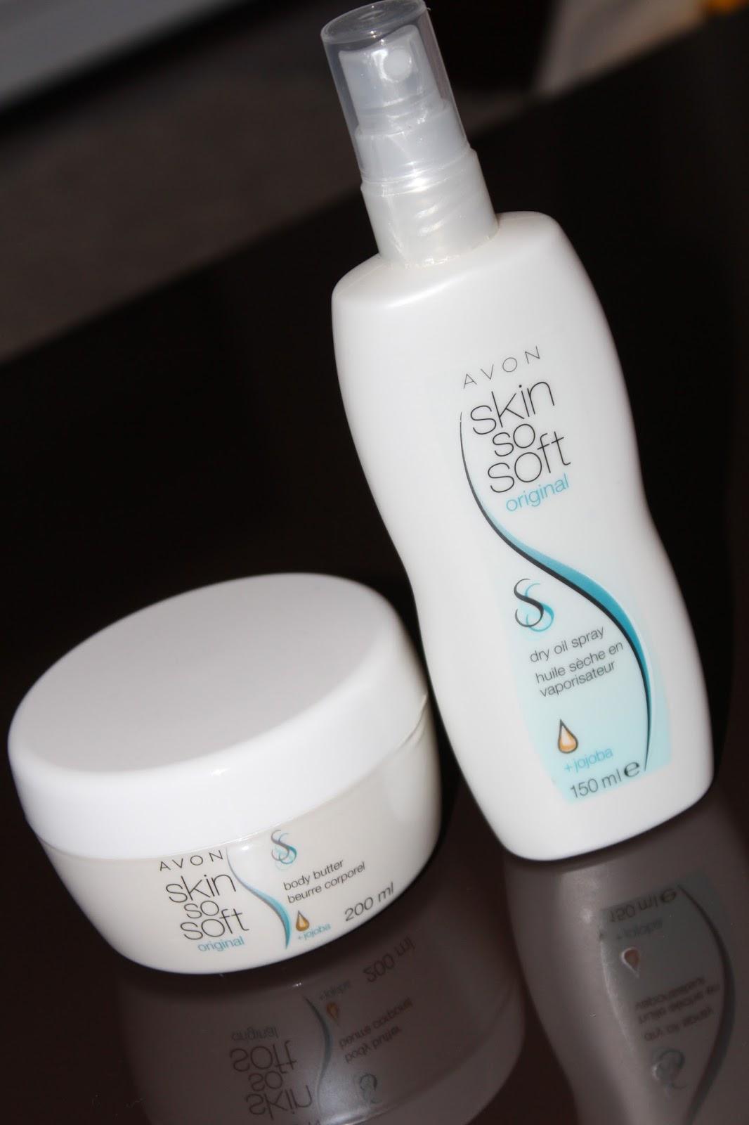 Avon Skin So Soft suho ulje i puter za tijelo