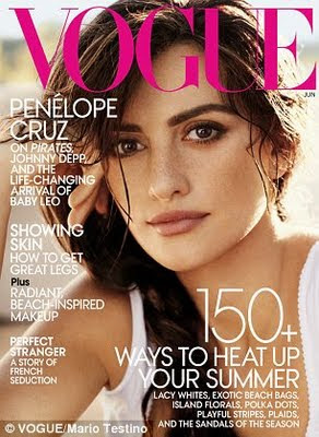 Naturalete : Penelope Cruz in Vogue