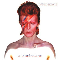Simple Minds band name origins - David Bowie - Aladin Sane