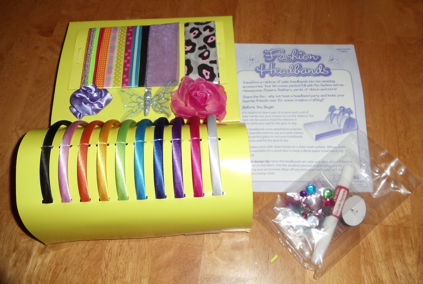 Js reviews and giveaways baby to child event creativity for Creativity for kids fashion headbands craft kit