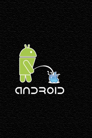 Android Piss funny iPhone Wallpapers 5s 5c 6