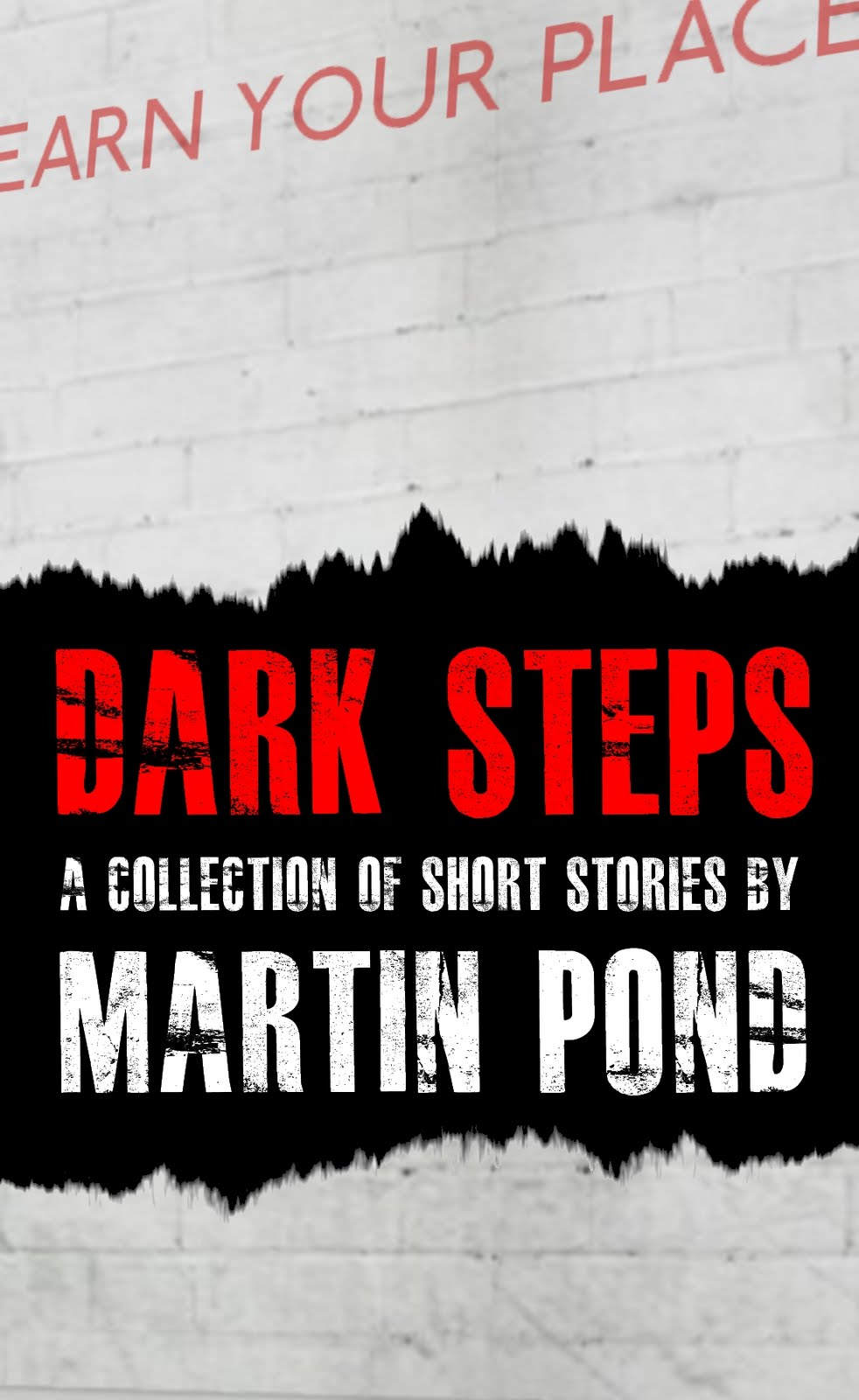 Dark Steps - a collection of short stories by Martin Pond