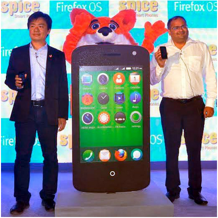 Spice's Firefox OS Based Smartphone, The Fire One Mi-FX 1