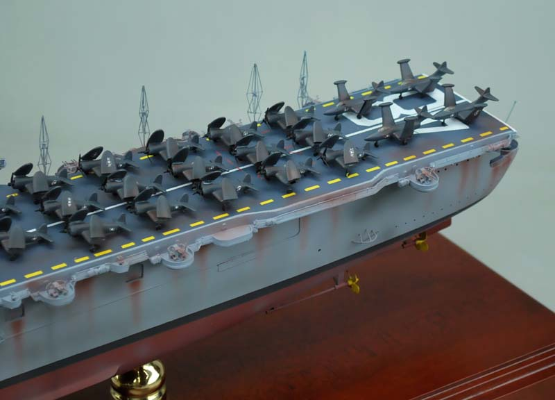 CVL-48 USS SAIPAN Aircraft Carrier Model | SD Model Makers