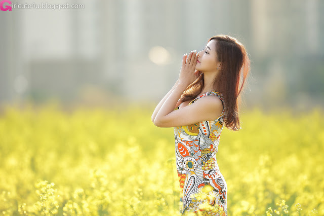 2 Kim Ha Yul Lovely Outdoor - very cute asian girl - girlcute4u.blogspot.com