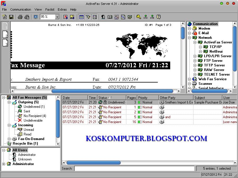 activefax server