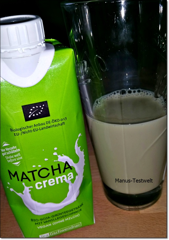 Veganer Bio Tee Crema
