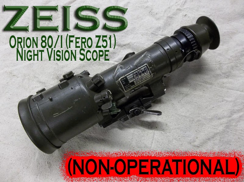 Zeiss Orion 80 Night Vision Scope