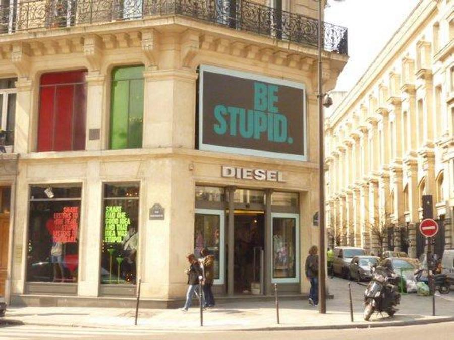 Mon monde boutique diesel store marais - Concept store marais ...