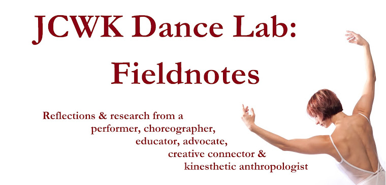 JCWK Dance Lab: Fieldnotes