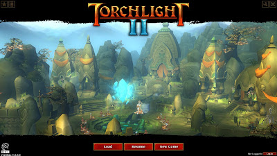 Torchlight II Title Screen