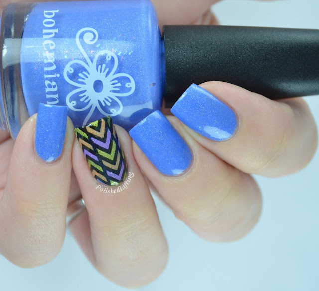 Bohemian Polish- Furry Little Problem Solver, Liquid Luck, See No Dreams, Steal Your Face UberChic Beauty 1-01