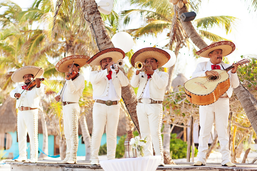 mariachi wedding band, Mexico destination wedding, Tulum weddings