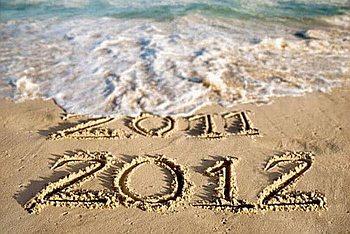 new year 2011 2012 sea