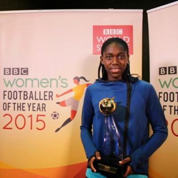 Nigeria's Asisat Oshoala named BBC Women's Player of the Year.