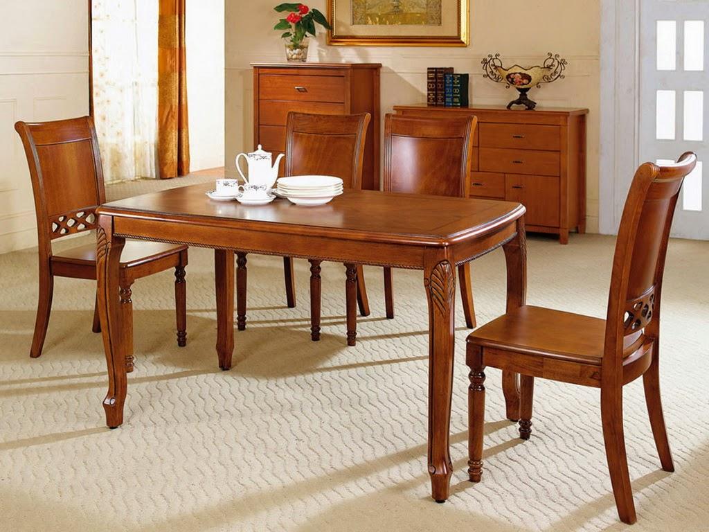 desain meja makan oval