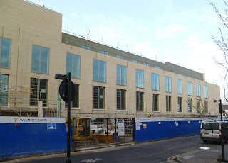 Construction of Akerman Health Centre in Patmos Road, SW9 in Vassall Ward