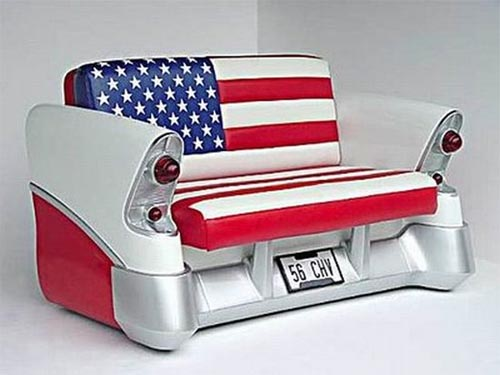 Unique furniture with old cars concept furniture design for Unique furniture