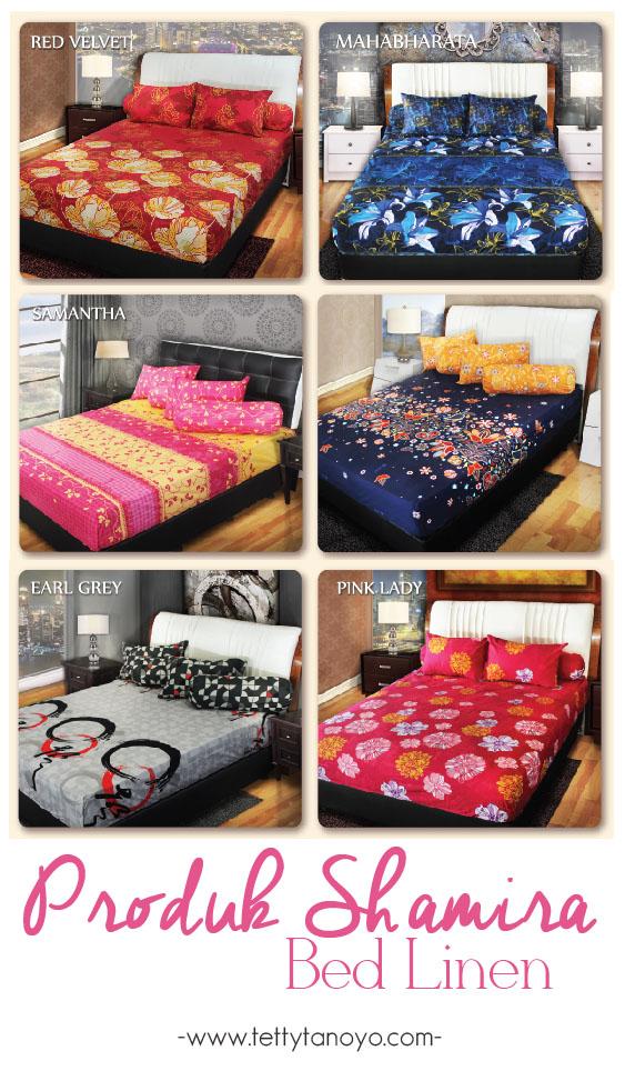 produk shamira bed linen