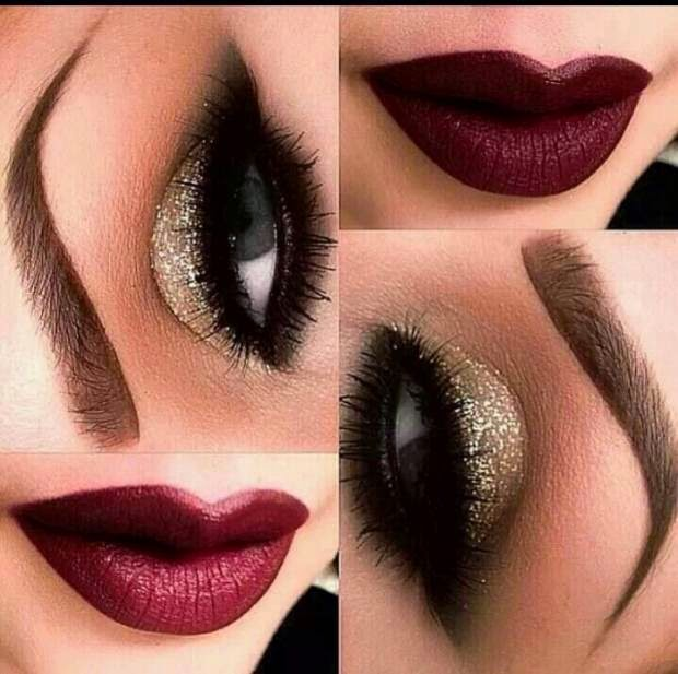 New Years Eve Makeup Inspiration The Style Brunch