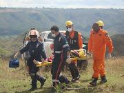 Acionamento da equipe aeromédica da Base PRF/SAMUBrasília/DF, .
