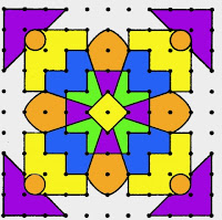 Rangoli Design Pattern 11