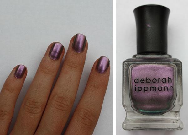 deborah lippmann wicked game nail polish swatch