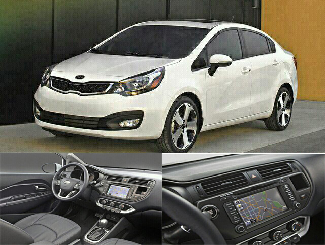 2012 Kia Rio Sedan   New Kia Rio Sedan 2012   Review Spec Release