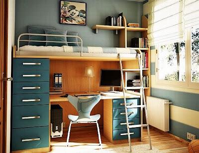 Teenage Girl Rooms Blue