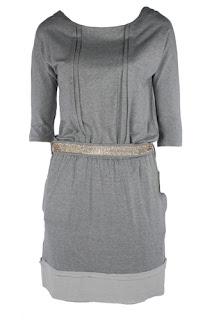 afrodit 2013 yılı gri elbise modeli