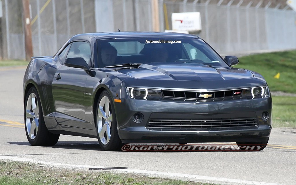 2014 Chevy Camaro 1LE, ZL1, RS Spy Shots