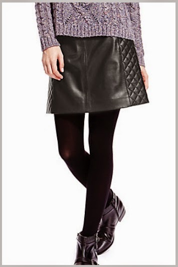 dorset fashionista m s leather skirt and my autumn winter